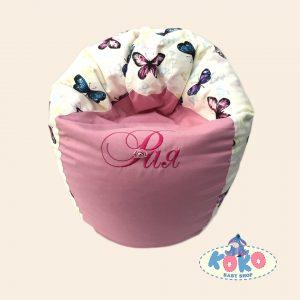 Барбарон различни размери Pink Butterflies | Baby Shop Koko