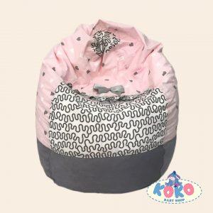 Барбарон различни размери Pink hearts| Baby Shop Koko